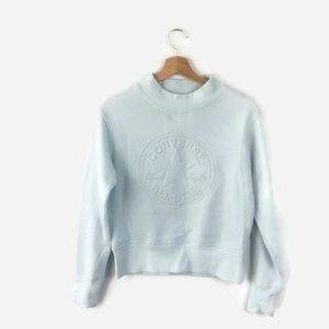 Converse Sweater Crewneck Chuck Patch Damen Size S